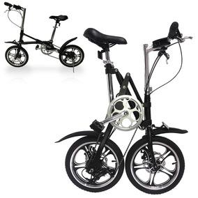 Bicicleta Plegable Ligera Portatil Rin 16 Aluminio Shimano M