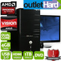 Computadora Pc Nueva Dual Core A4 6300 4gb 1tb Dvd San Migue