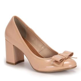 Sapato Salto Feminino Dariely - Nude