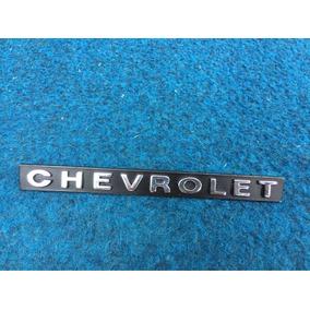 Emblema Chevrolet Opala Grade Traseira Calota