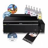 Impresora Epson L800 L805 Cd/dvd Sistema Continuo Mas Regalo