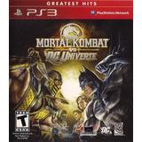 Mortal Kombat Vs Dc Universe | Ps3 Fisico Nuevo Y Sellado -