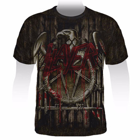 Camiseta Full Print Slayer - Stamp Ful-012