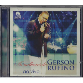 Cd As Melhores De Gerson Rufino (ao Vivo)