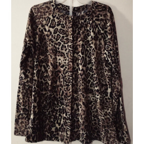 Suéter Liviano Animal Print Casual Sexy Cl194
