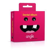 Porta Dente De Leite / Dental Album Premium Angie - Rosa