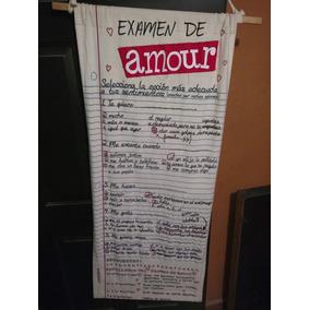 Bonita Manta Exámen Del Amor, Usada.