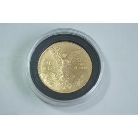 Centenario 50 Pesos Oro Puro 1921-1947 En Cápsula