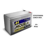 4 X Bateria Moura 9amp 12v  Nota Fiscal Nobreak Original