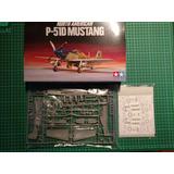 Avion Tamiya P/armar Mustang P 51 D 1/72 Kit 60749