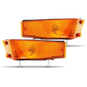 Par De Lanternas Dianteira Ford F100 F350 F1000 Ano 84 À 91