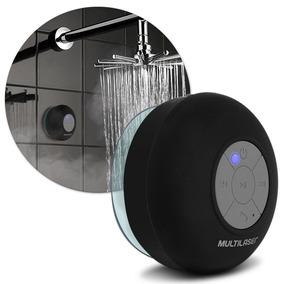 Caixa De Som Multilaser Sp225 Bluetooth Shower 8w