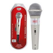 Microfone P/ Igreja Pregar Cantar Mxt M-996 + Cabo 3m
