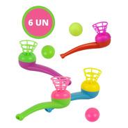 Jogo De Sobro Bolinha E Cachimbo Brinquedo Colorido Infantil