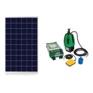 Bomba De Agua Anauger P100 + Placa Solar 340w + Sensor