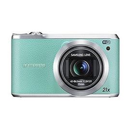 Camera Digital Samsung Wb380f Verde S/cabo/bateria