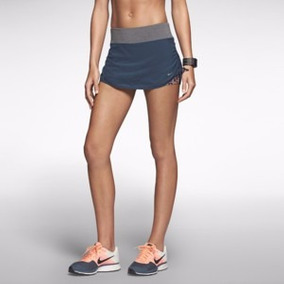 Shorts Saia Nike Rival 2 Em 1 Compressão Tênis Running Top
