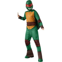 Disfraz Niño Las Tortugas Ninja Traje De Raphael, Pequeño