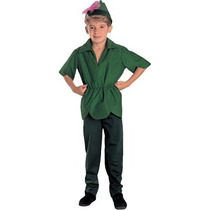 Disfraz Niño Traje De Rubíes Co R S Peter Pan Pequeño Niño