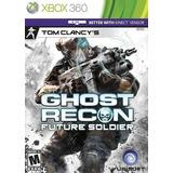 Ghost Recon Future Soldier Para Xbox 360 Nuevo Sellado
