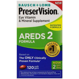 Preservision Areds 2 Formula - Bausch + Lomb - 120 Cáps