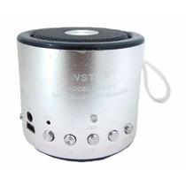 Mini Caixa Som 5w Bluetooth Wireless Mp3 Fm Sd Usb