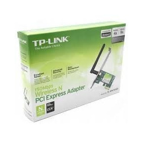 Tarjeta De Red Inalambrica Tplink Pciadapter 150mps /751nd