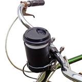 Cruzy Leather Bike Cup Holder Hecho A Mano Por Hide