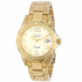 Relógio Invicta Angel 14397 - Dourado Feminino