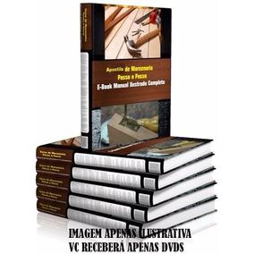 Curso De Marcenaria E Carpintaria De Moveis Em 11 Dvds