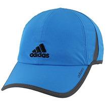 Adidas Gorra Adizero Ii, Ray Azul / Negro, Talla Única