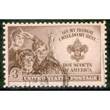 Estados Unidos Sello Usado 2° Reencuentro Boy Scouts 1950