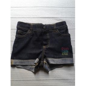 Short De Jean Calvin Klein Original Para Niña Talla 24 Meses