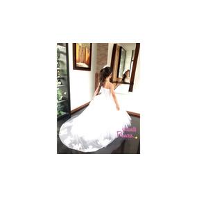 Vestido Primera Comunión Con Cola , Juanas Princess