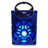 Bocina Con Tecnología Bluetooth,luminosa, Recargable Vb-005
