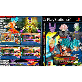 Dragon Ball Z Budokai Tenkaichi 3/4 Dublado Mod Latino Ps2