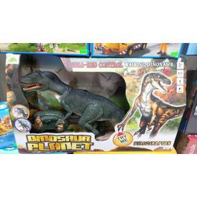 Dinosaurio Velociraptor Control Camina Sonido La Plata Myuj
