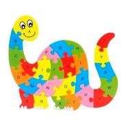 Quebra Cabeça 2d Didático De Madeira Animais Jogo Educativo