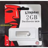 Pendrive 2 Gb Kingston Metal Llavero Blister Sellados 2gb