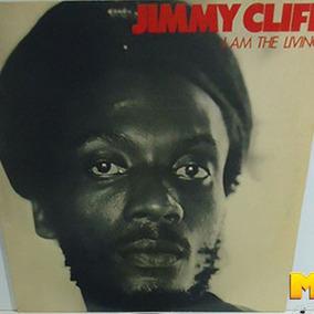 Jimmy Cliff 1980 I Am The Living Lp Com Encarte