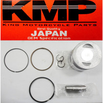 Kit Pistão C/anéis Shineray 70cc 1,00mm Kmp Garciajapanbike