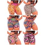 Kit C/ 15 Shorts Estampados - Roupas Moda Fitness Atacado