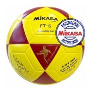 Bolas Mikasa Ft5 Futevôlei Oficial Natalia Amarela  Vermelha