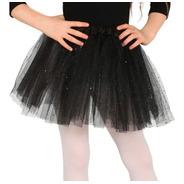 Tutú Escarchado Glitter Niñas Falda Ballet Disfraz