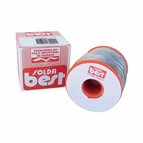 Rolo De Solda Estanho 500g 0,5mm Ou 1,0mm - Best