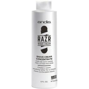 Andis Razr Shave Cream Concentrate Para Máquina De Espuma