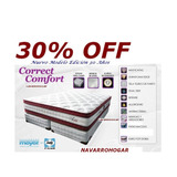 Colchon Sommier Correct Confort 160x200 Sistem Pocket Latex