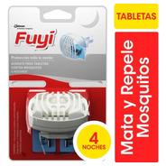 Fuyi Aparato Para Tabletas Contra Mosquitos + 4 Tabletas