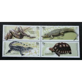 Timbres De Reptiles ( Cocodrilo, Serpiente, Tortuga, Etc...)