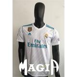 Camiseta Real Madrid 17-18 Climacool